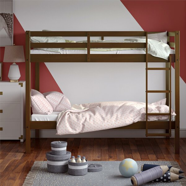 Minster Twin over Twin Bunk Bed by Harriet Bee