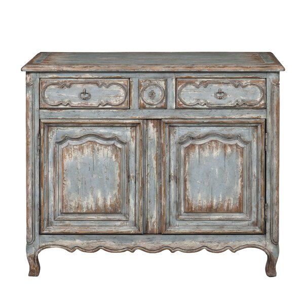 Heines Farmhouse 2 Door Accent Cabinet by One Allium Way One Allium Way