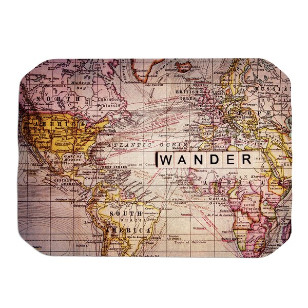 Wander Placemat by KESS InHouse