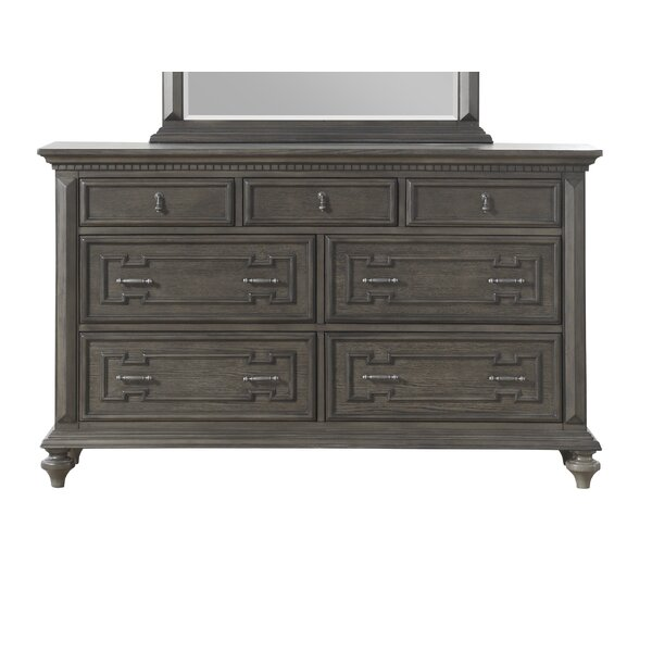 Hednesford 7 Drawer Double Dresser by Charlton Home