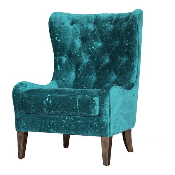 Masham Wingback Chair by Brayden Studio Brayden Studio