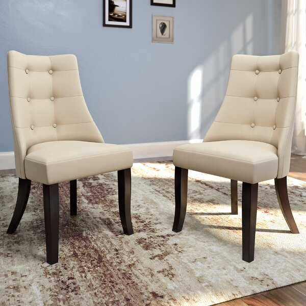 NeasaUpholstered Dining Chair (Set of 2) by Brayden Studio Brayden Studio