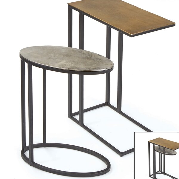 Didama 2 Piece End Table Set by 17 Stories
