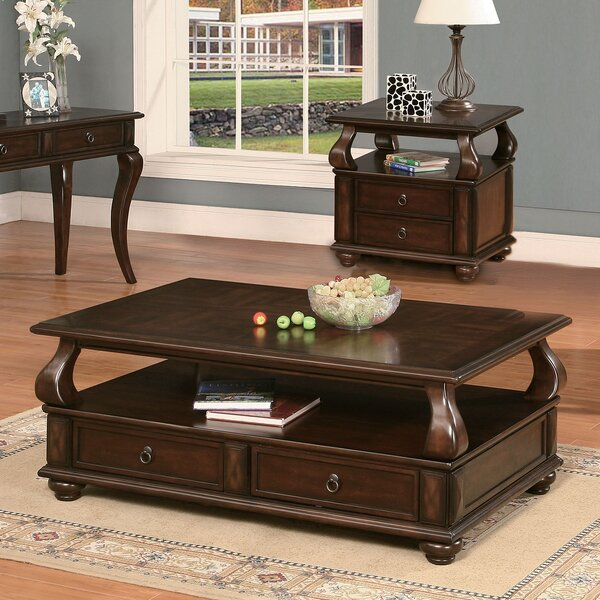 Amado Coffee Table with Storage by A&J Homes Studio A&J Homes Studio