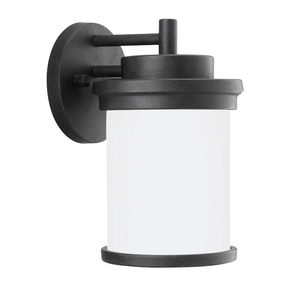 Tilford 1-Light Outdoor Wall Lantern by Charlton Home