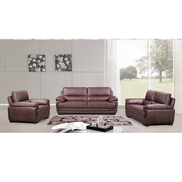 Rollins 3 Piece Living Room Set (Set of 3) by Loon Peak