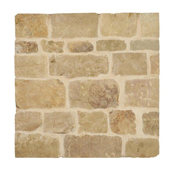 London Loose Veneer Natural Stone Splitface Tile in Brown by MSI