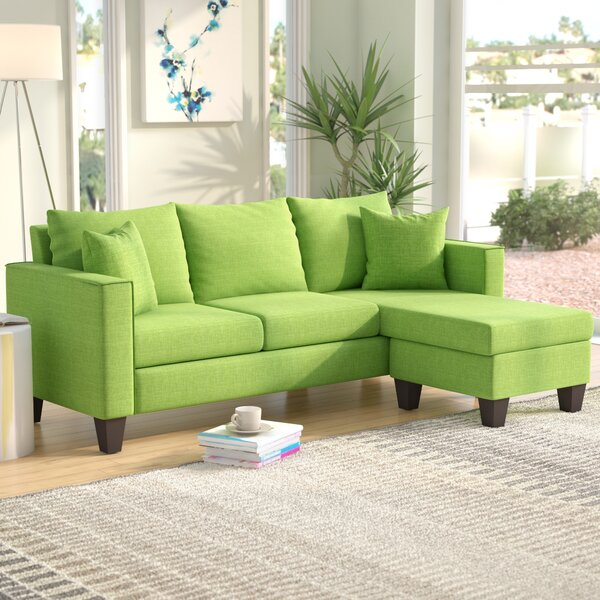 #1 Janna Reversible Sectional By Zipcode Design 2019 Sale