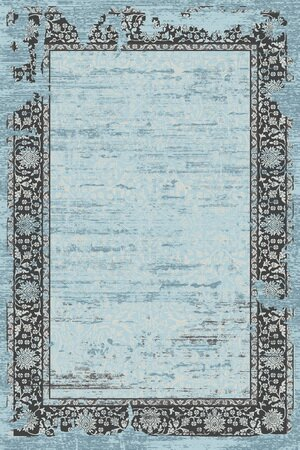 Como Blue Indoor/Outdoor Area Rug by Rug Factory Plus