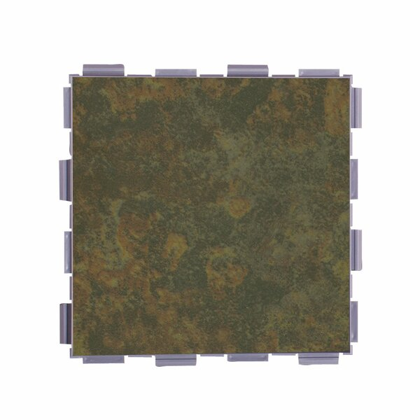 Classic Standard 6 x 6 Porcelain Field Tile in Moss by SnapStone