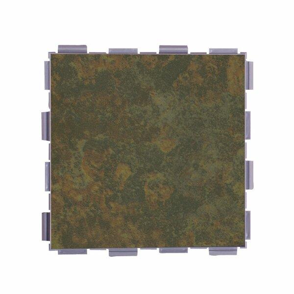 Classic Standard 6 x 6 Porcelain Field Tile in Moss by SnapStone