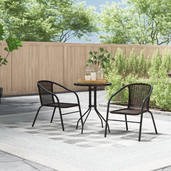 Cael 3 Piece Bistro Set by Zipcode Design