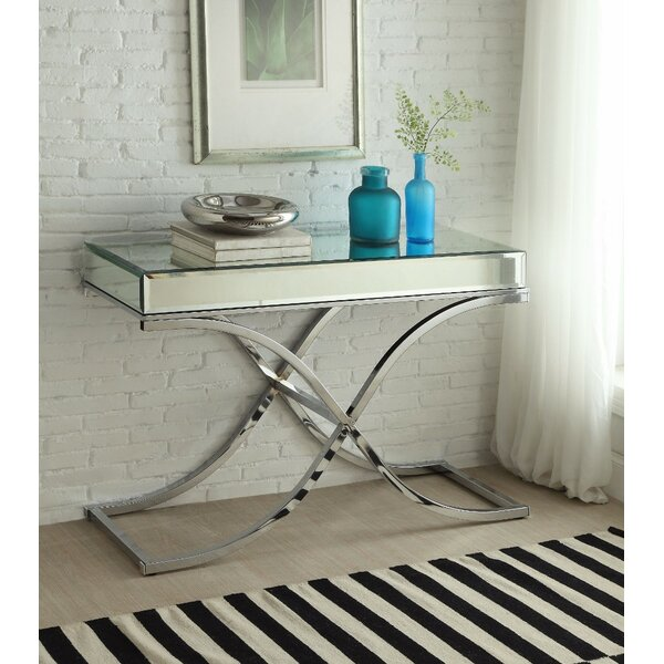 Lowther Sophisticated Console Table by Rosdorf Park