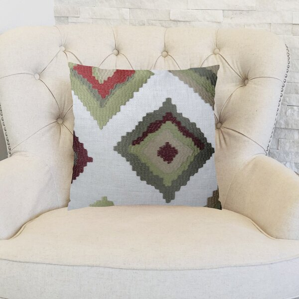 Earth Native-Trail Handmade Linen Throw Pillow by Plutus Brands