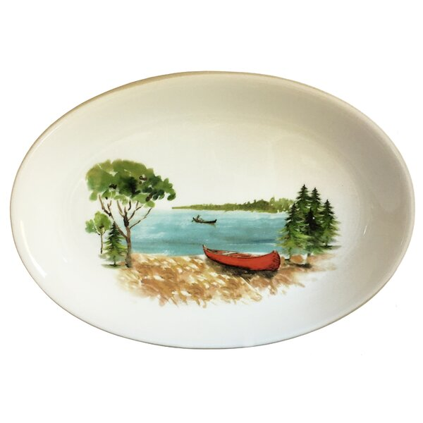 Wehr Canoe Platter by Millwood Pines