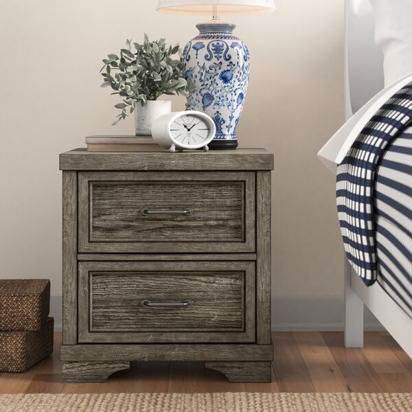 New Ashford 2 Drawer Nightstand by Three Posts Baby & Kids