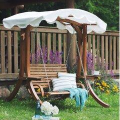 Garden Swing Up to 4 People Lying Function Solid Steel Tube Hammock Swing Garden//Terrace 220cm Dark Blue Protection Against Sunlight blumfeldt High Society Swing Seat