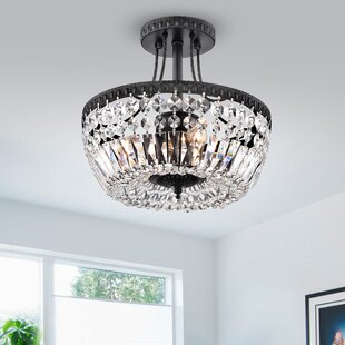 Find the perfect Aspinwall 3-Light Semi Flush Mount By Astoria Grand