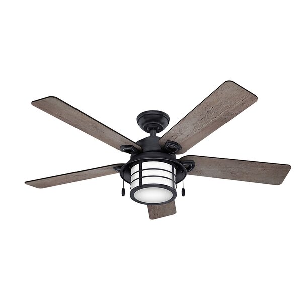 54 Key Biscayne 5 Blade Outdoor Ceiling Fan by Hunter Fan