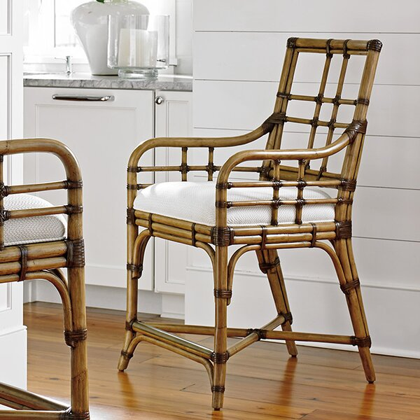 Twin Palms Bar & Counter Stool by Tommy Bahama Home Tommy Bahama Home