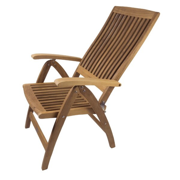 Weatherly 6-Position Reclining Deck Chair by SeaTeak SeaTeak