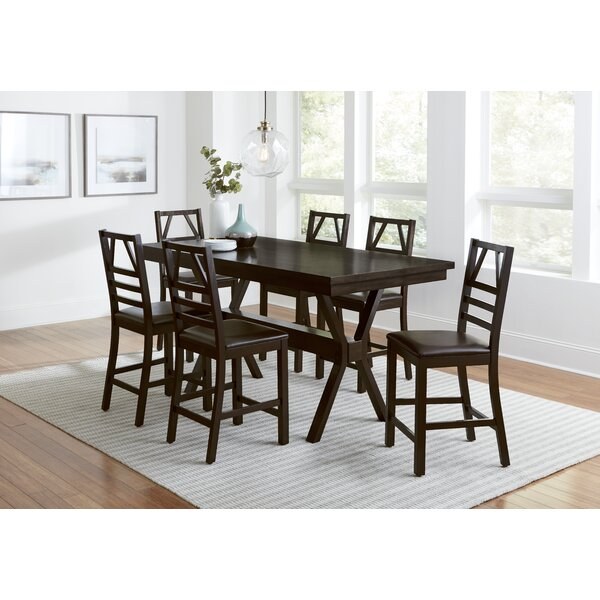 7 Piece Pub Table Set By Progressive Furniture Inc.