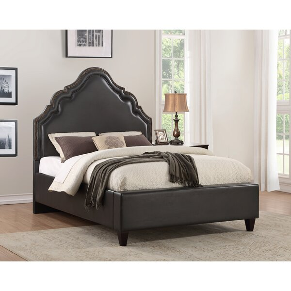 Liviana Upholstered Panel Bed by Everly Quinn