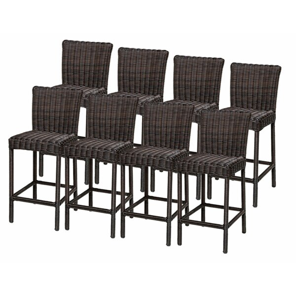 Venice 30 Patio Bar Stool (Set of 8) by TK Classics