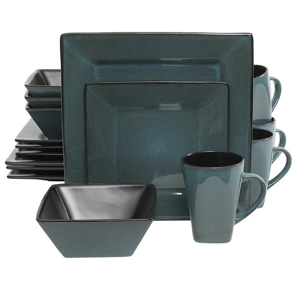 Stevan 16 Piece Dinnerware Set, Service for 4 by Winston Porter