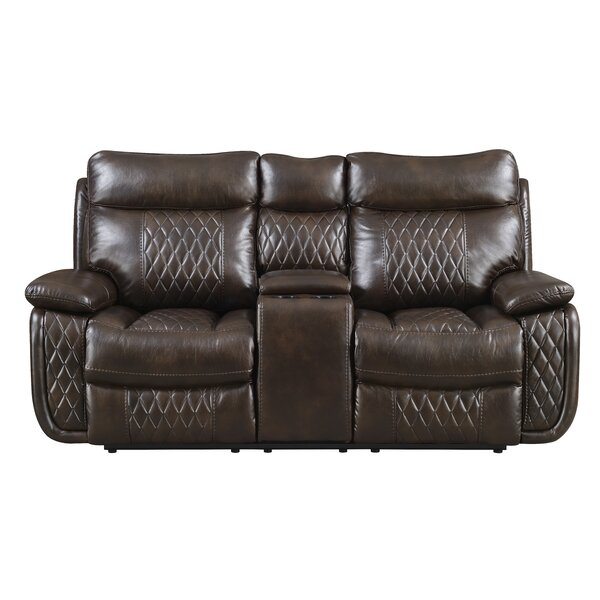 Courtois Reclining Loveseat by Winston Porter