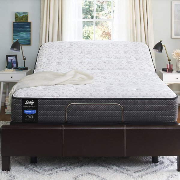 Response™ Performance 12'' Plush Tight Top Mattress and 9 Box Spring by Sealy
