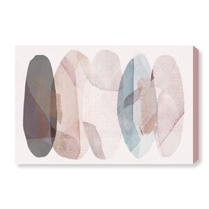 'Leaf Shower' Graphic Art Print on Canvas by Oliver Gal