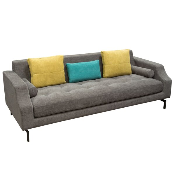 Charmant Diamond Sofa Status Loose Pillow Back Sofa | Wayfair