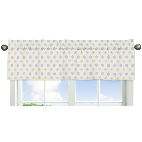 Mod Garden Floral 54 Window Valance by Sweet Jojo Designs