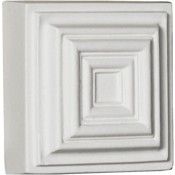 Leandros 4.13 H x 4.13 W x 1.25 D Rosette by Ekena Millwork