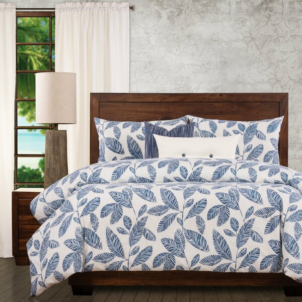 Blue Lagoon Tropical Duvet Cover & Insert Set