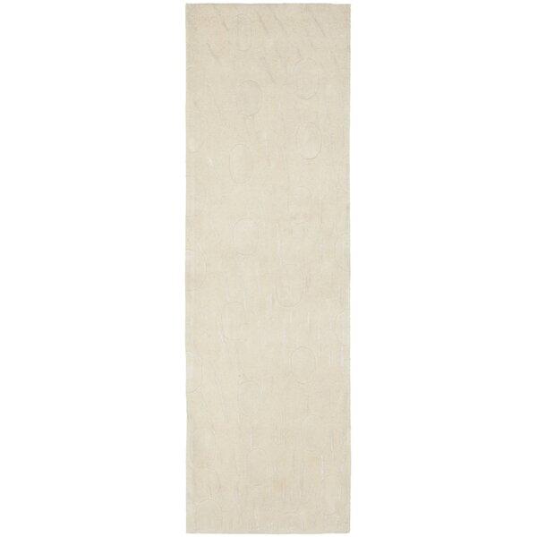 Boone Hand-Tufted Wool Tan Area Rug