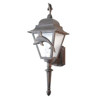 Price Check Penfield 1-Light Outdoor Sconce By Alcott Hill