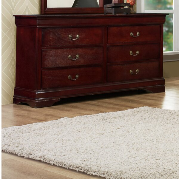 6 Drawer Double Dresser by LYKE Home
