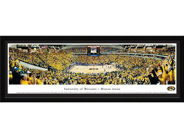 NCAA Missouri, University of - Basketball by James Blakeway Framed Photographic Print by Blakeway Worldwide Panoramas, Inc