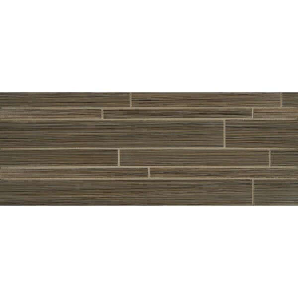 Refine Listello Gloss and Matte 6 x 16 Porcelain Tile in Pinstripe by Grayson Martin