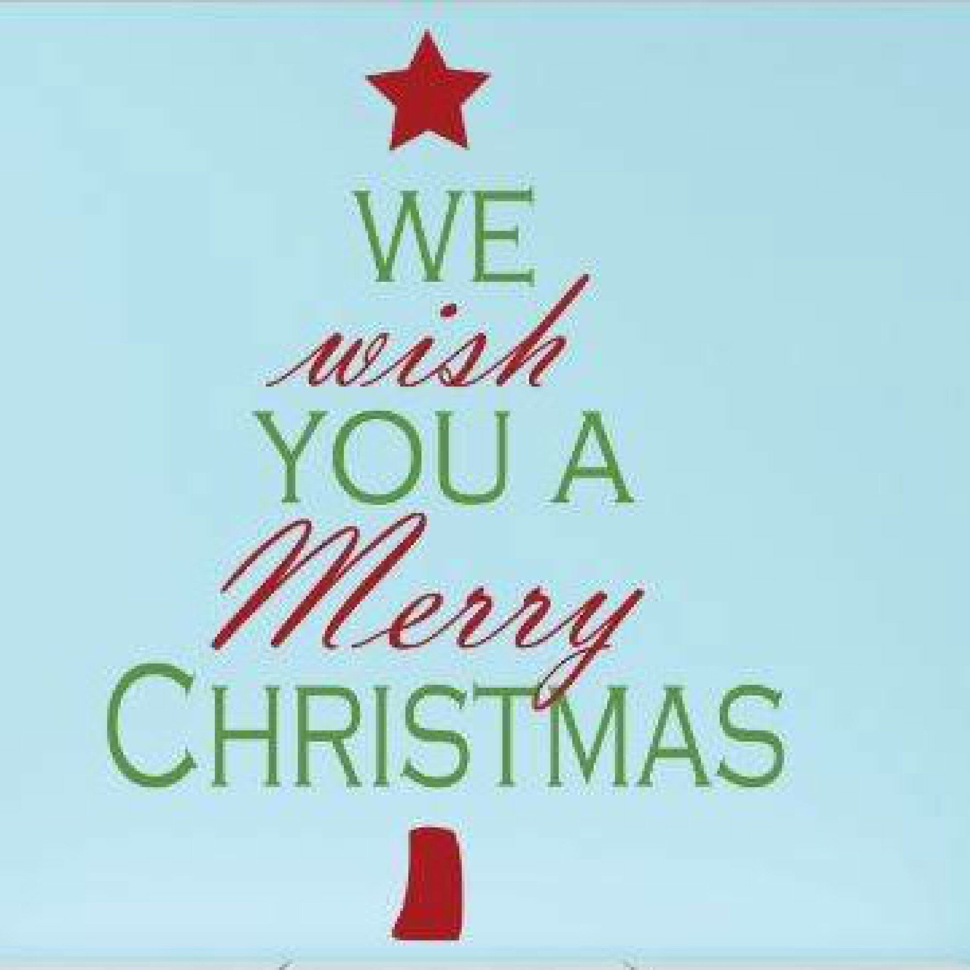 design with vinyl we wish you a merry christmas wall decal wayfair - Christmas Wall Decal