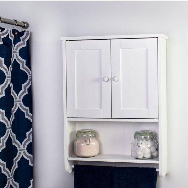 Magar 19.3 W x 25.75 H x 5.7 D Wall Mounted Bathroom Cabinet
