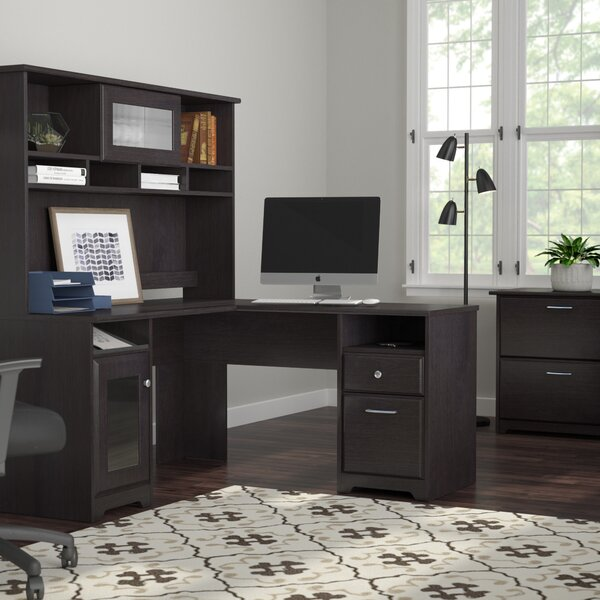 Hillsdale 3 Piece L-Shape Executive Desk Office Suite by Red Barrel Studio