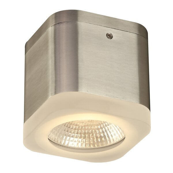 Cubie 1-Light Outdoor Flush Mount by PLC Lighting