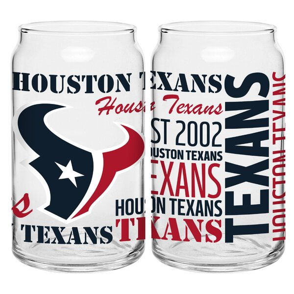NFL Set 16 Oz. Pilsner Glass (Set of 2) by Boelter Brands