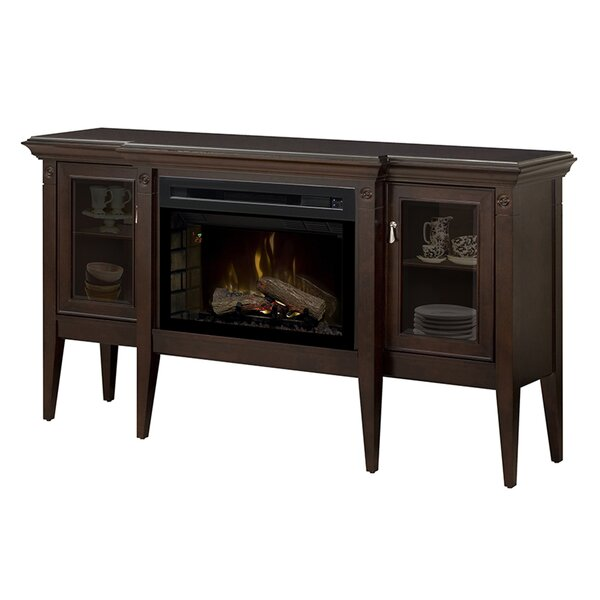 Upton 64.06 TV Stand with Fireplace by Dimplex