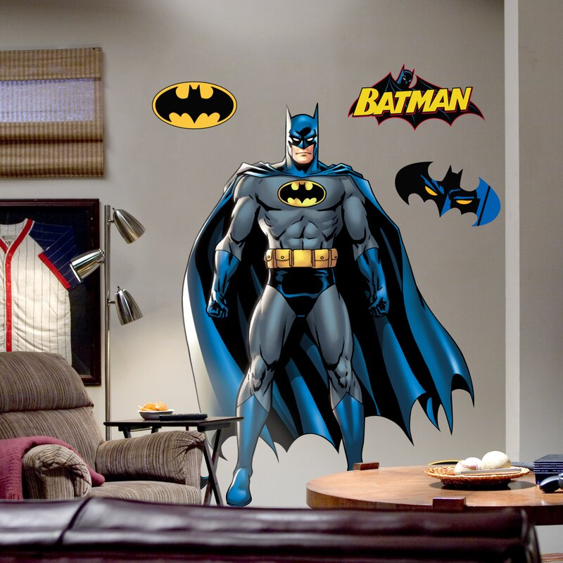 Super Heroes Batman Wall Decal