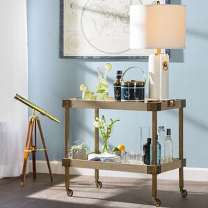 Audubon Bar Cart by Beachcrest Home