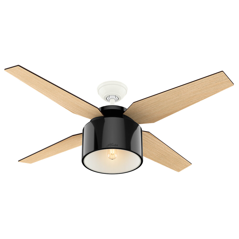 in inch fan item limited black ceiling shown edition image glass finish magnifying cfm hunter blade midas